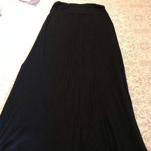 Merona Slit Sides Maxi Skirt Small